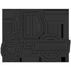 Blazquez Martín Obras Civiles y Medioambientales - Icono rodillos compactador - apisonadora