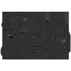 Blazquez Martín Obras Civiles y Medioambientales - Icono camión hormigonera