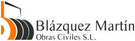 Blazquez Martín Obras Civiles y Medioambientales - Logotipo sin texto horizontal