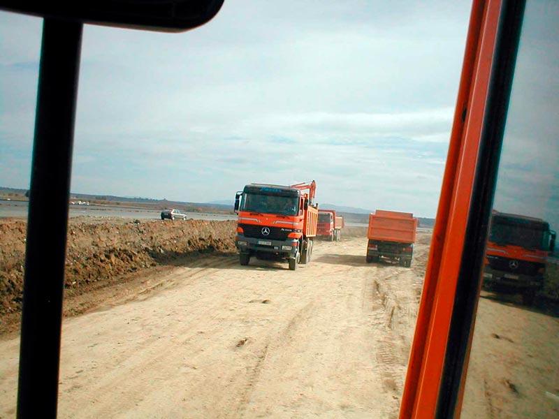 Blazquez Martín Obras Civiles y Medioambientales - Trabajo Realizado Acondicionamiento caminos y viales