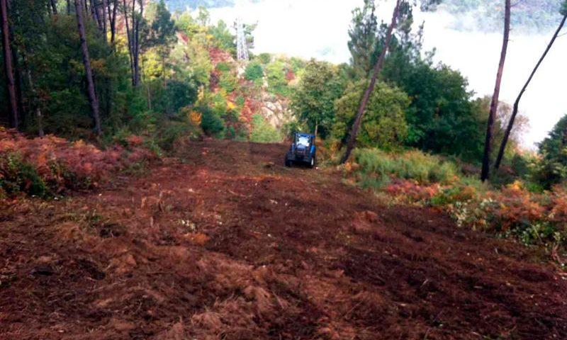 Blazquez Martín Obras Civiles y Medioambientales - Trabajo Realizado Recuperación zonas degradadas