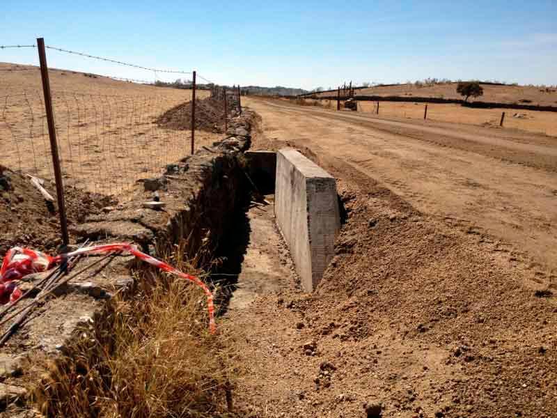 Blazquez Martín Obras Civiles y Medioambientales - Trabajo Realizado Acondicionamiento camino
